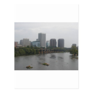 Richmond Virginia Skyline Postcard