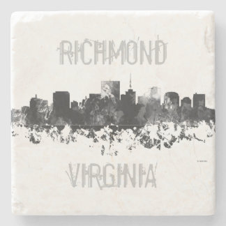 RICHMOND VIRGINIA SKYLINE STONE COASTER