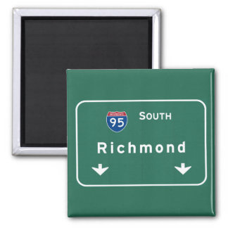 Richmond Virginia va Interstate Highway Freeway : Magnet