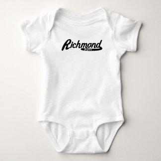 Richmond Virginia Vintage Logo Baby Bodysuit