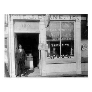 Richmond Watchmaker: 1899 Postcard