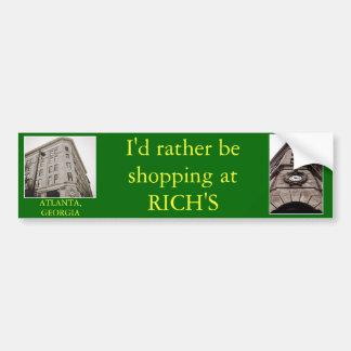 Rich's, Atlanta, Georgia Bumper Sticker