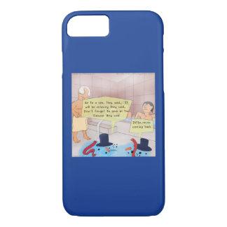 Rick London Comic Snowman Phone Cases