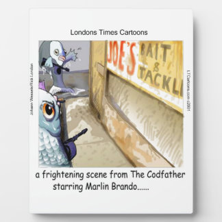 Rick London Fish Mafia Funny Gifts Plaque