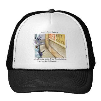 Rick London Fish Mafia Funny Gifts Trucker Hat