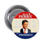 Rick Perry 2012 2 Inch Round Button