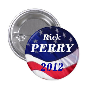 Rick Perry 2012 button