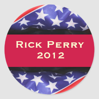 Rick PERRY 2012 Campaign Sticker