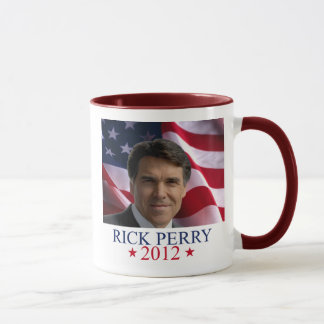 Rick Perry 2012 for president coffee mug