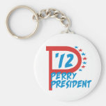 Rick Perry 2012 for President Key Chains