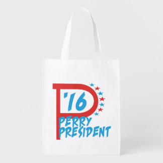 Rick Perry 2016 - Election For President Market Totes