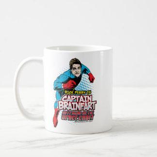Rick Perry Captain Brainfart Mug