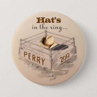 Rick Perry for President 3 Inch Round Button