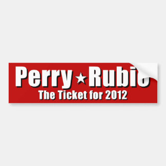 Rick Perry for President Bumper Stickers