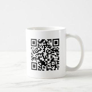 Rick Roll QR Code Rickrolled Coffee Mug