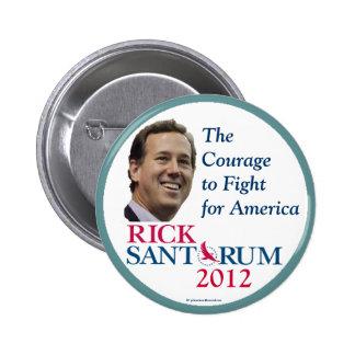 Rick Santorum 2012 Republican political pinback bu 2 Inch Round Button