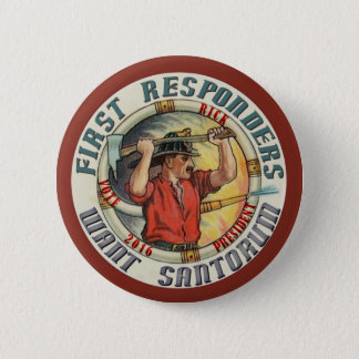 Rick Santorum for President 2016 2 Inch Round Button