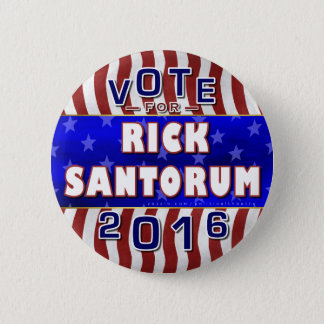 Rick Santorum President 2016 Election Republican 2 Inch Round Button