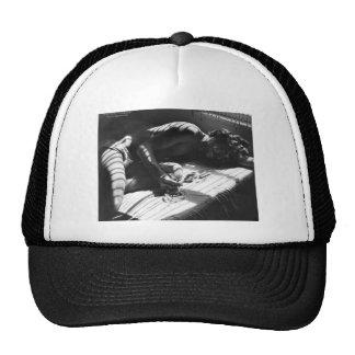 Rick Smoking Trucker Hat