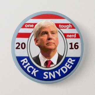 Rick Snyder for President 2016 3 Inch Round Button