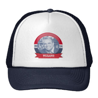 RICK WEILAND CAMPAIGN TRUCKER HATS
