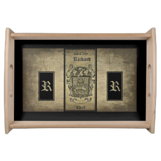 Rickard Coat of Arms Serving Tray