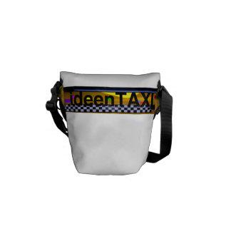 Rickshaw curing ashes idea taxi messenger bag