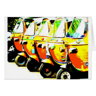 Rickshaw Greeting/Note Card