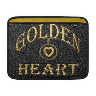 Rickshaw MacBook Air sleeve-GOLDEN HEART