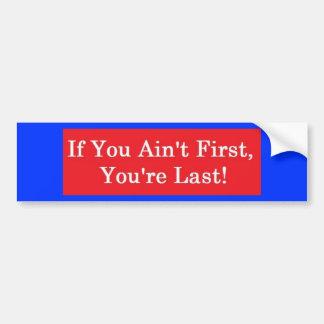 Ricky Bobby Bumper Sticker