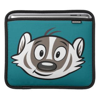 Ricky Raccoon | Boomer Badger Face iPad Sleeve