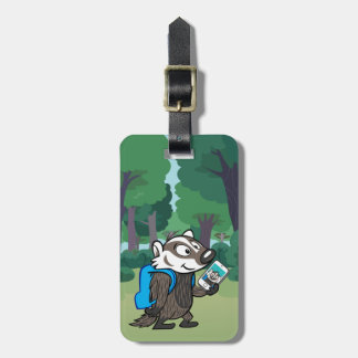 Ricky Raccoon | Boomer Badger Selfie Luggage Tag
