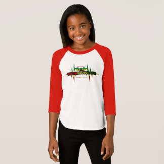 Riddim Roots Radio Girls 3/4 Sleeve Raglan T-Shirt