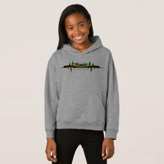 Riddim Roots Radio Girls' Fleece Pullover Hoodie