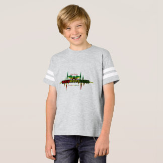 Riddim Roots Radio Kids' American Football Shirt