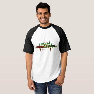 Riddim Roots Radio Men's Raglan Baseball T-Shirt