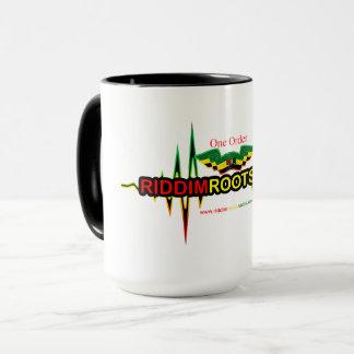 Riddim Roots Radio Ringer Combo Mug