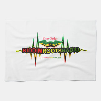 Riddim Roots Radio Tea Towel