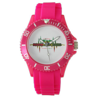 Riddim Roots Radio Women's Sporty Silicon Watch