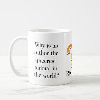 Riddle mug... author coffee mug
