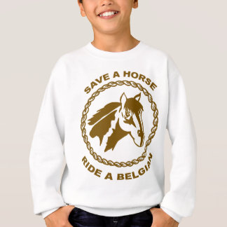 Ride A Belgian Sweatshirt
