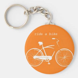 Ride a Bike Keychain