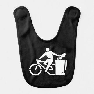 Ride A Bike Not A Car Bib