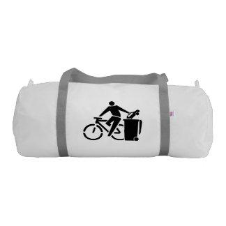 Ride A Bike Not A Car Gym Bag