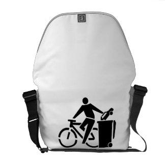 Ride A Bike Not A Car Messenger Bag