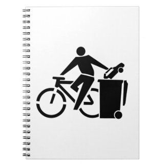 Ride A Bike Not A Car Notebook