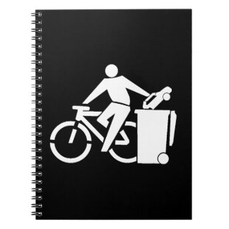 Ride A Bike Not A Car Notebooks