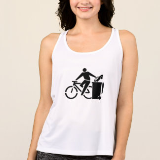 Ride A Bike Not A Car Tank Top