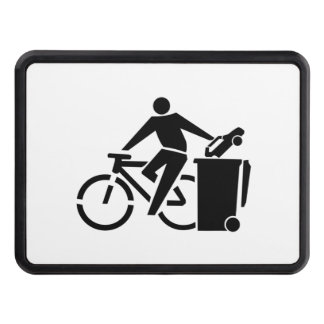 Ride A Bike Not A Car Trailer Hitch Cover