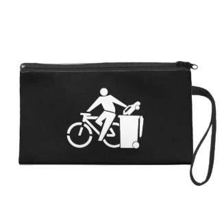 Ride A Bike Not A Car Wristlet